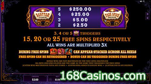 Pistoleras Slot Free Spins Game