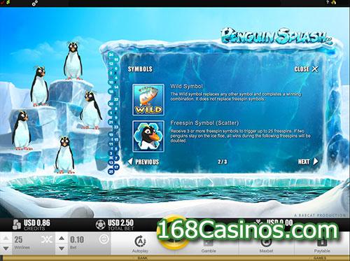Penguin Splash Slot Bonus Feature