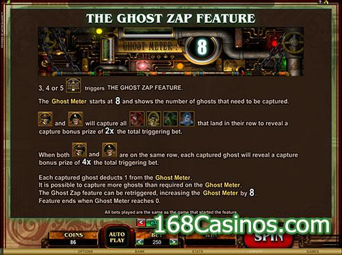 Phantom Cash Slot - The Ghost Zap Feature