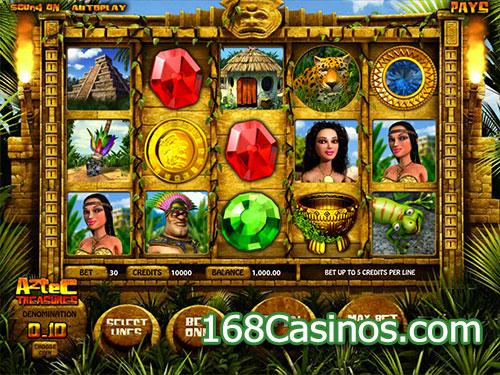 Aztec Treasures Slot