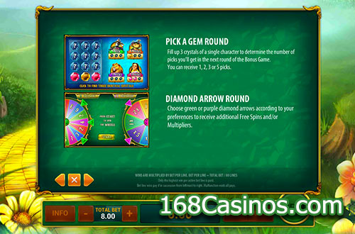 Magic Of Oz Online Slot Bonus