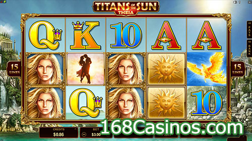 Titans of the Sun - Theia Slot
