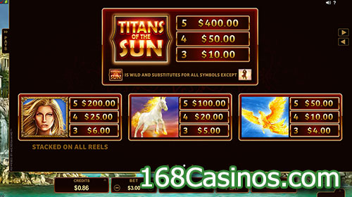 Titans of the Sun - Theia Slot Bonus