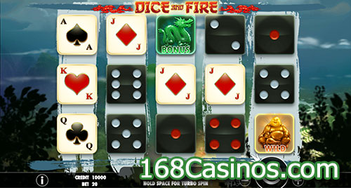 Dice and Fire Slot